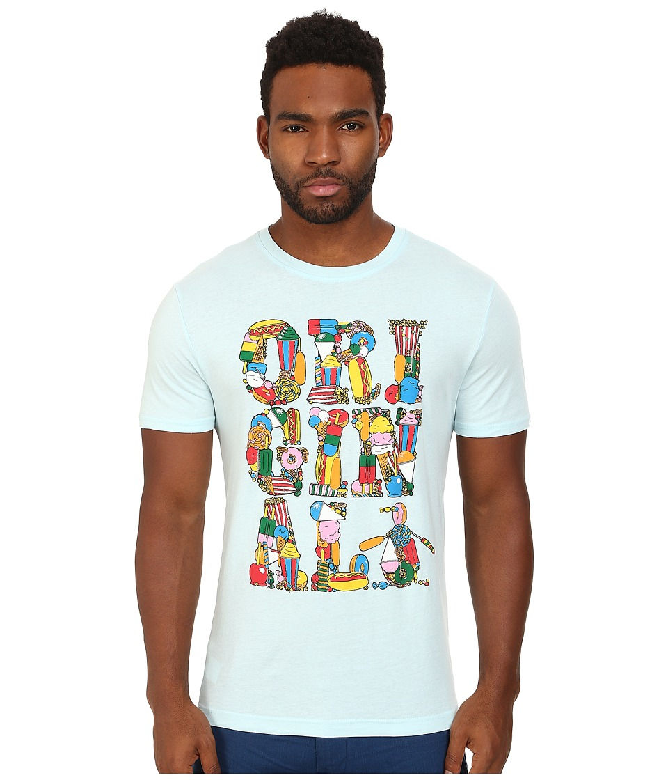 Original Penguin - The Carnival Original Tee (Crystal Blue) Men's T Shirt