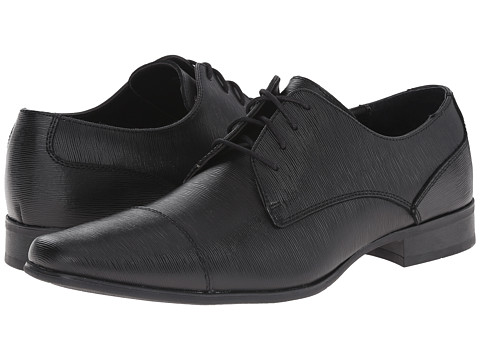 Calvin Klein - Bram Textured (Black) Men's Shoes