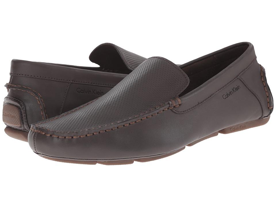 Calvin Klein - Miguel Perf (Dark Brown) Men's Shoes