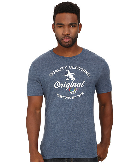 Original Penguin - The Quality Clothing Heritage Tee (Dark Denim) Men's T Shirt
