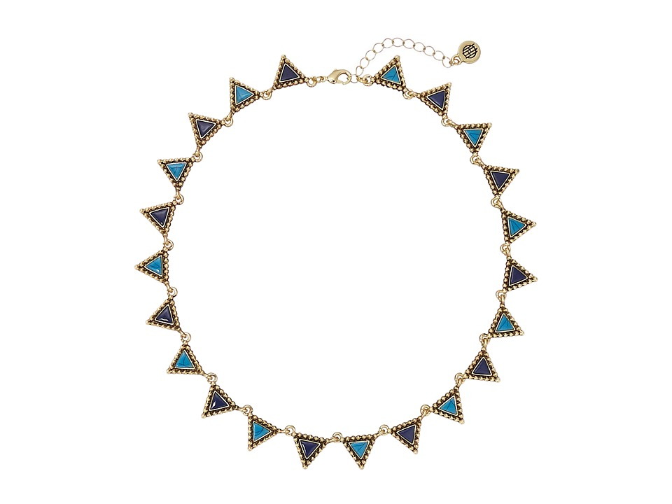 House of Harlow 1960 - Native Legend Collar Necklace (Turquoise) Necklace