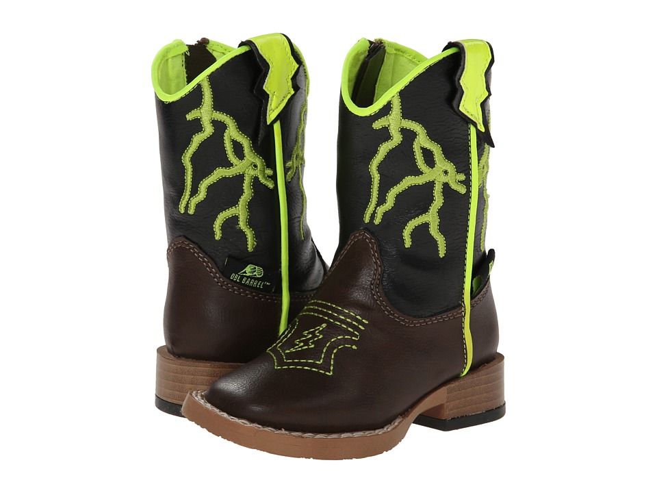 M&F Western - Ace (Toddler) (Brown) Cowboy Boots