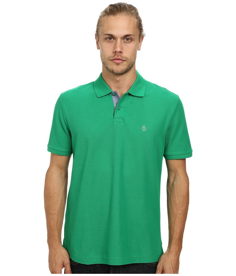 Original Penguin - Daddy-O Polo (Jolly Green) Men's Short Sleeve Pullover