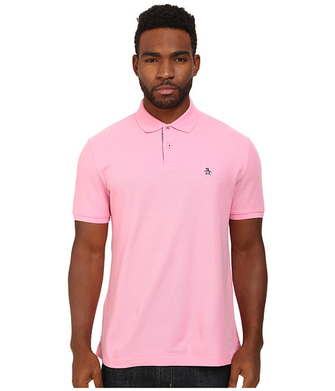 Original Penguin - Daddy-O Polo (Sachet Pink) Men