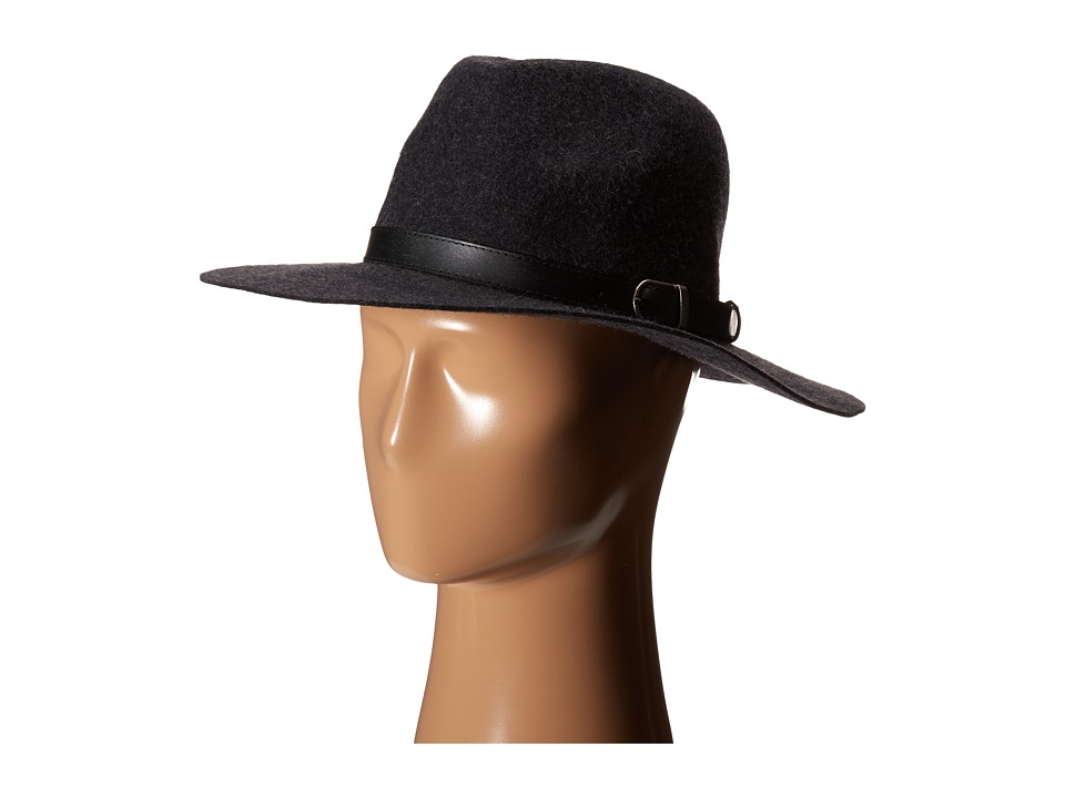 Michael Stars - Oh My Darling Wide Brim Hat (Heather Oxide) Fedora Hats
