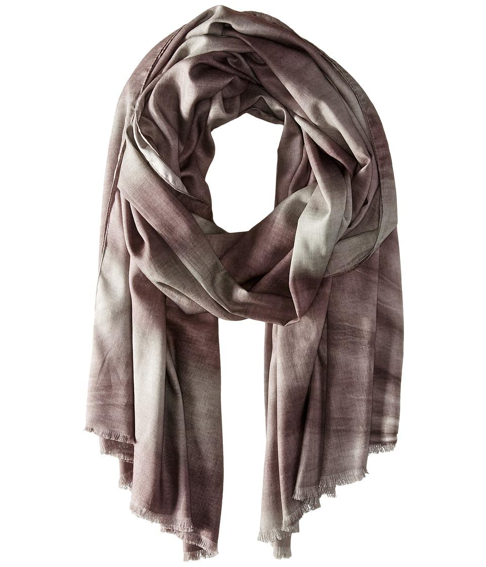 Michael Stars - Vintage Stripe Wrap (Velvet) Scarves plus size,  plus size fashion plus size appare