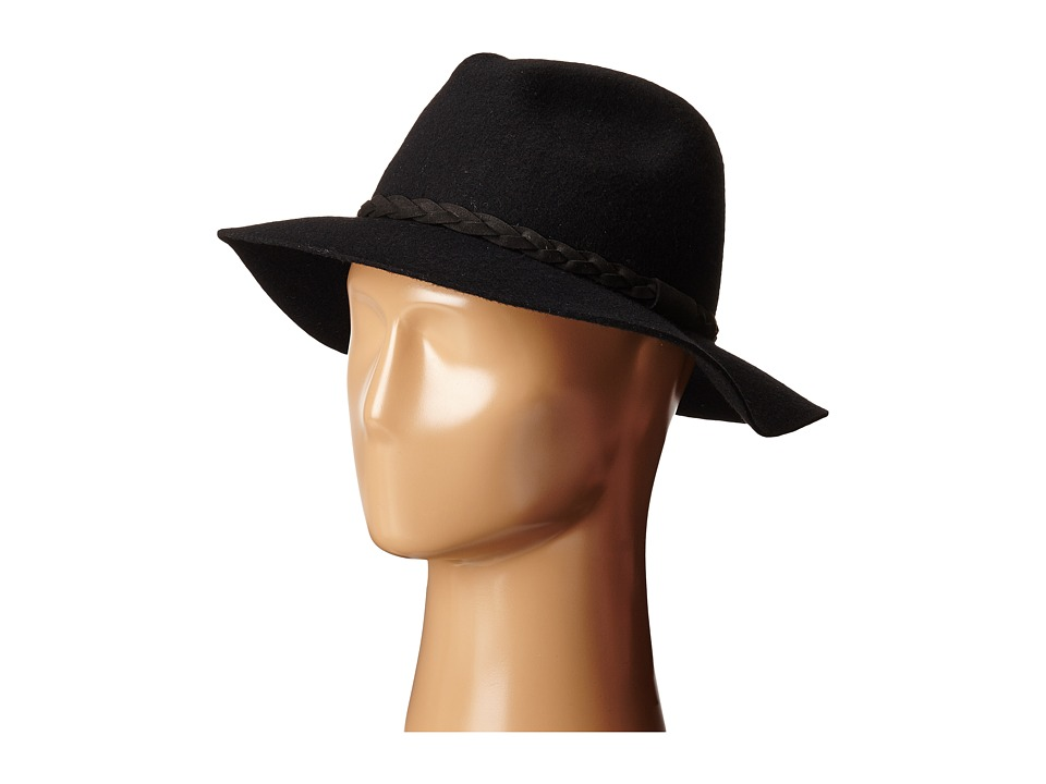 Michael Stars - Shes Twisted Fedora (Black) Fedora Hats
