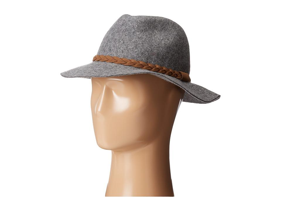 Michael Stars - Shes Twisted Fedora (Heather Crescent) Fedora Hats