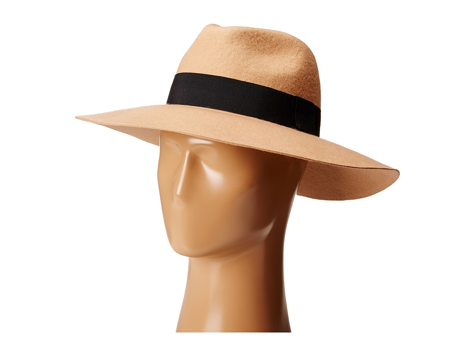 Michael Stars - Downtown Wide Brim Fedora (Sahara) Fedora Hats