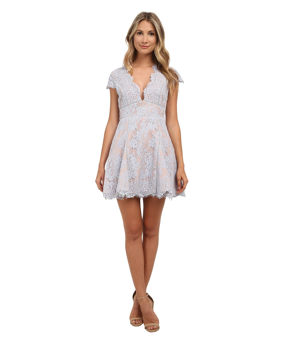 StyleStalker - Visions Skater Dress (Sky) Women's Dress