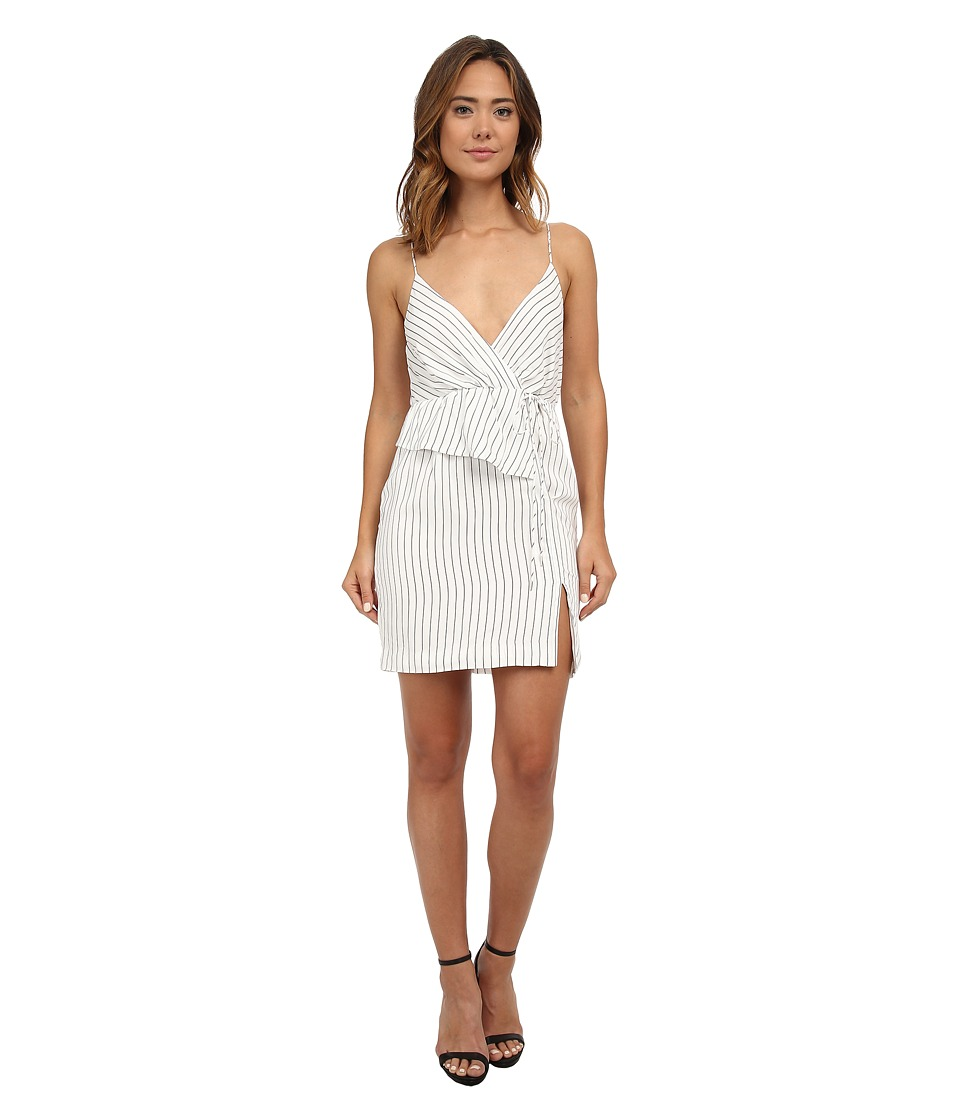 StyleStalker - Limitless Wrap Dress (Linear) Women's Dress