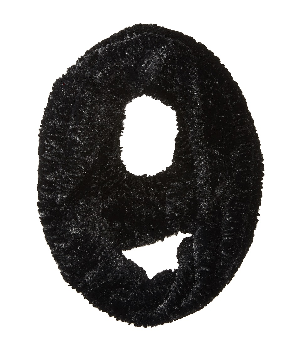 Michael Stars - Cozy Up Faux Fur Eternity (Black) Scarves