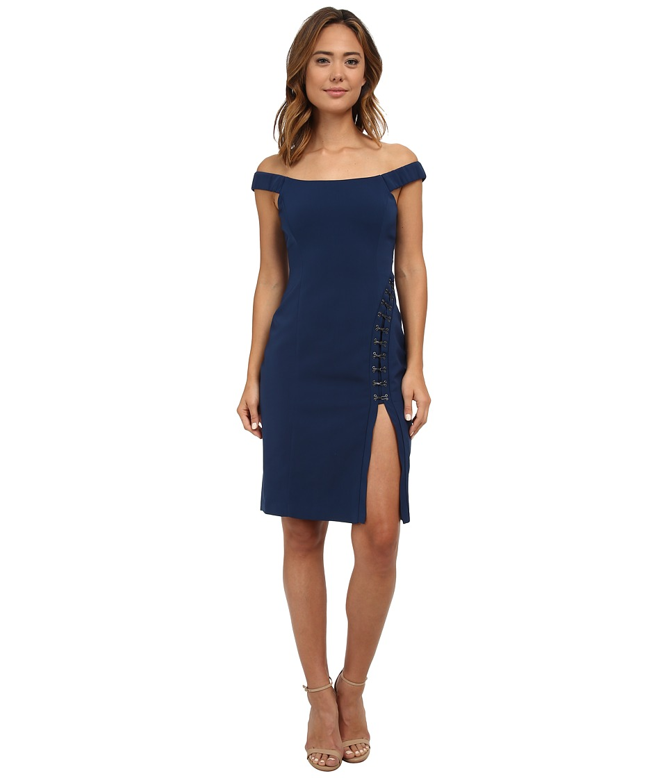 StyleStalker - The Way Midi Dress (Royal Blue) Women's Dress