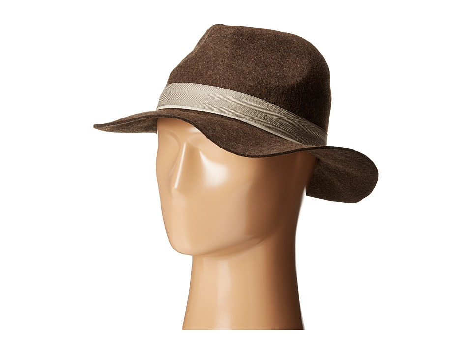 Vince Camuto - Banded Travellers Panama (Brown) Caps