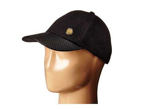 Vince Camuto - Embossed Brim Baseball (Black) Baseball Caps