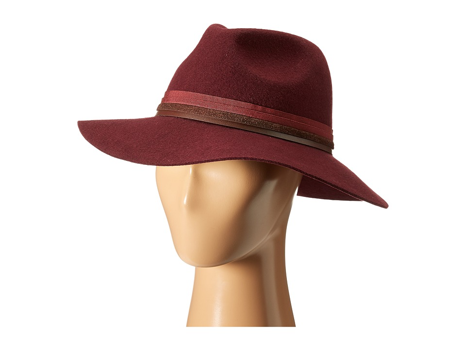 Vince Camuto - Multiple Band Panama (Wine) Caps