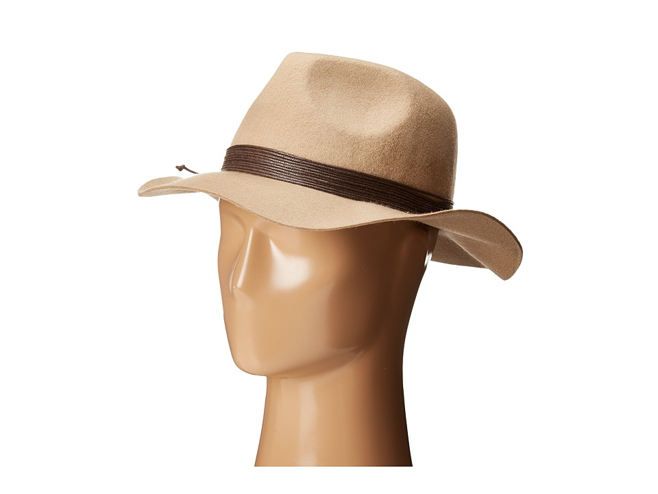 Vince Camuto - Multi Strand Traveller Panama (Camel) Caps