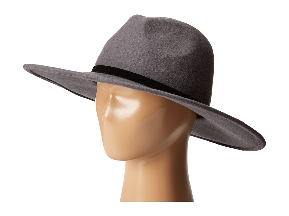 Vince Camuto - Wide Brim Hats (Grey) Caps