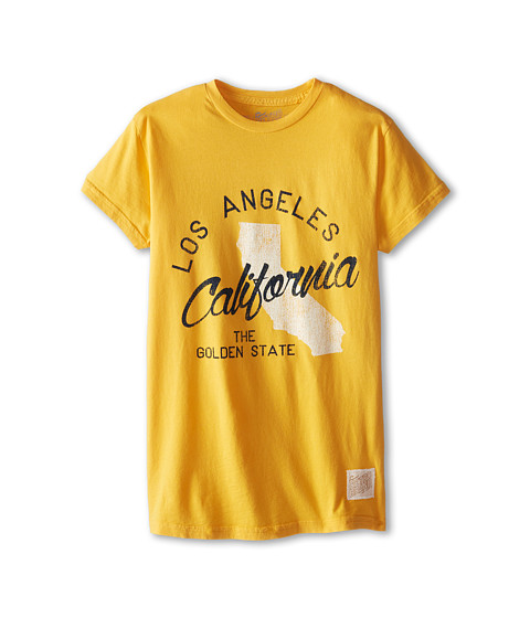 The Original Retro Brand Kids - Los Angeles Worlds Best Tee (Big Kids) (Gold) Boy