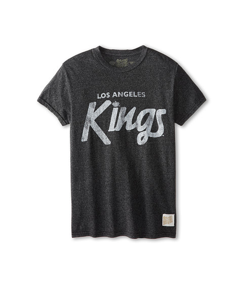 The Original Retro Brand Kids - LA Kings Tee (Big Kids) (Mock Twist Black) Boy