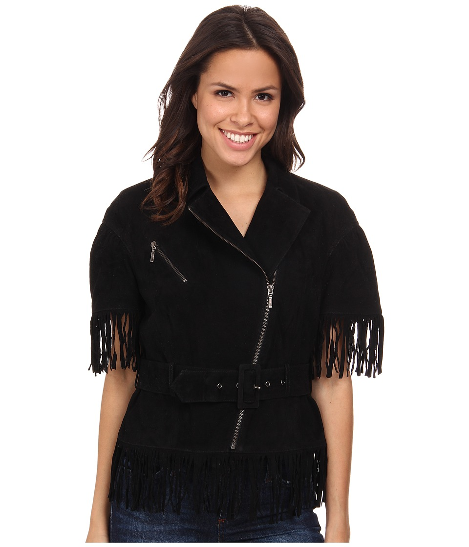 Double D Ranchwear - Cow-Wow Boogie Jacket (Black) Women's Coat
