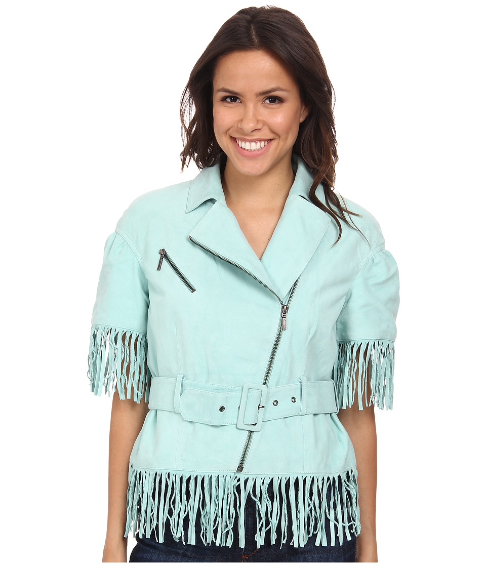 Double D Ranchwear - Cow-Wow Boogie Jacket (Tenderfoot Teal) Women's Coat