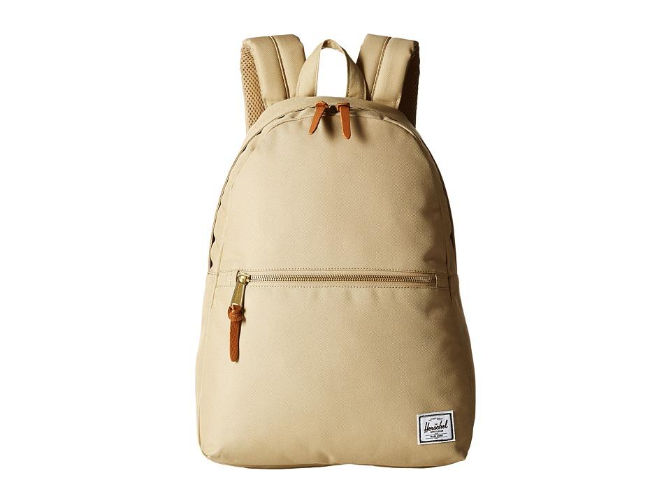 Herschel Supply Co. - Town (Khaki) Backpack Bags