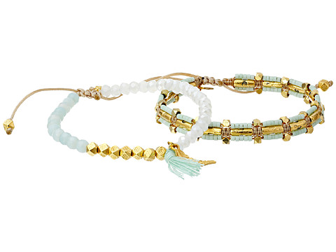 Chan Luu - Two Pack Friendship Bracelets (Pistachio Mix) Bracelet