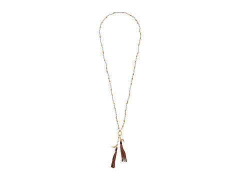 Chan Luu - 32 Necklace w/ Tassle (Amazonite) Necklace