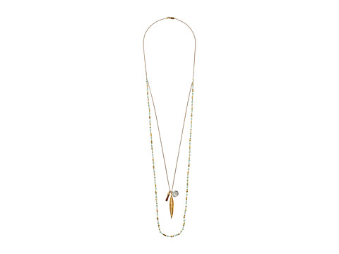 Chan Luu - 34 Double Strand Necklace (Pistachio Mix) Necklace