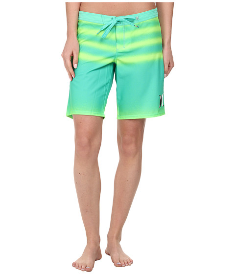 Hurley - Phantom Printed 9 Boardshorts (Menta Green) Women