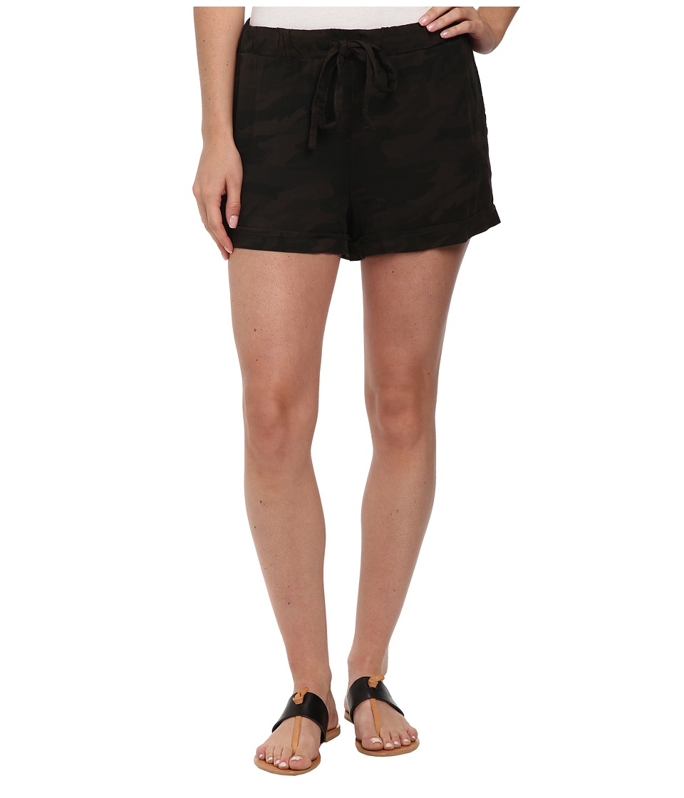Sanctuary - Ben Shorts (Charcoal Camo) Women's Shorts