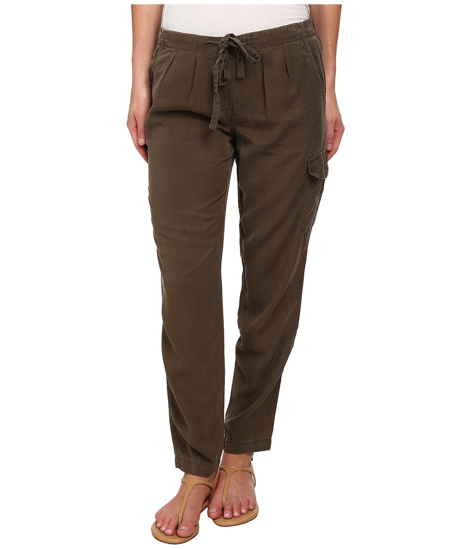 Sanctuary - Soft City Pants (Brown Olive) Women's Clothing