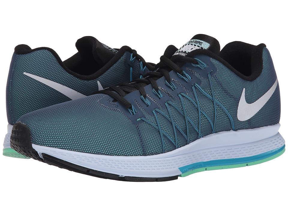 Nike - Air Zoom Pegasus 32 Flash (Squadron Blue/Blue Lagoon/Green Glow/Reflect Silver) Men
