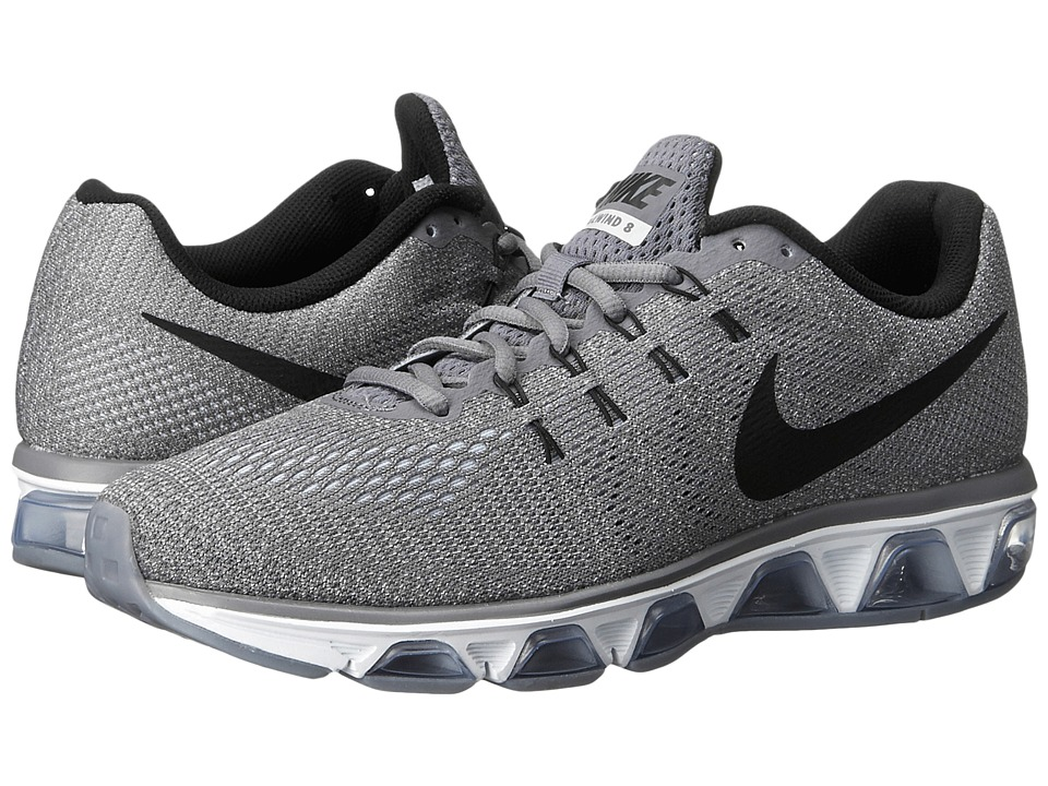 Nike - Air Max Tailwind 8 (Cool Grey/Pure Platinum/White/Black) Men's Running Shoes
