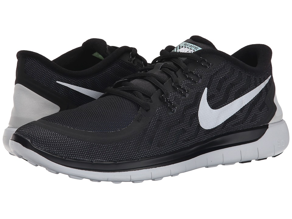 Nike - Free 5.0 Flash (Black/Cool Grey/Pure Platinum/Reflect Silver) Men's Running Shoes
