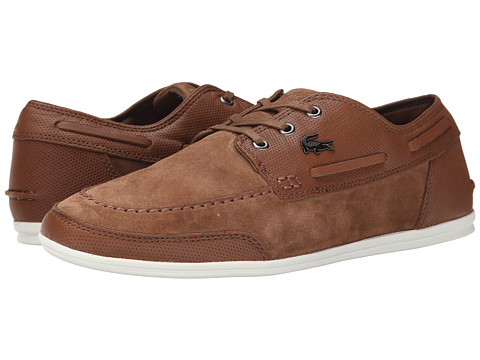 Lacoste - Misano Boat 4 (Tan) Men's Shoes