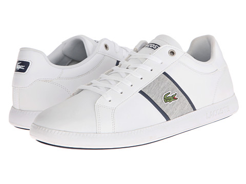 Lacoste - Graduate Evo GRV (White/Dark Blue) Men
