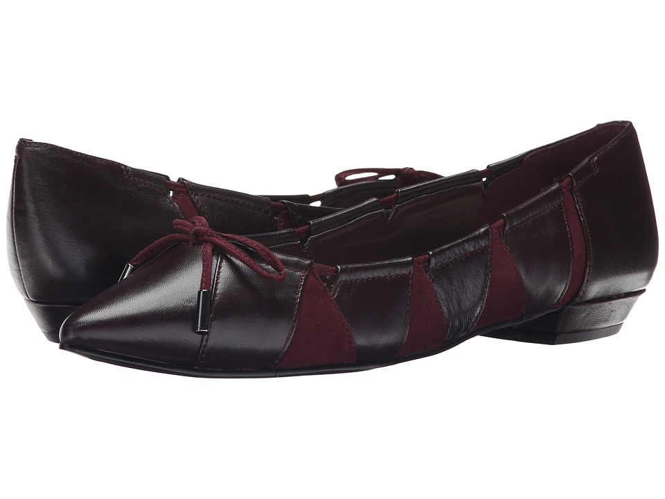 Nine West - Tallett (Garnet/Garnet Sheep Tudor/G3000) Women