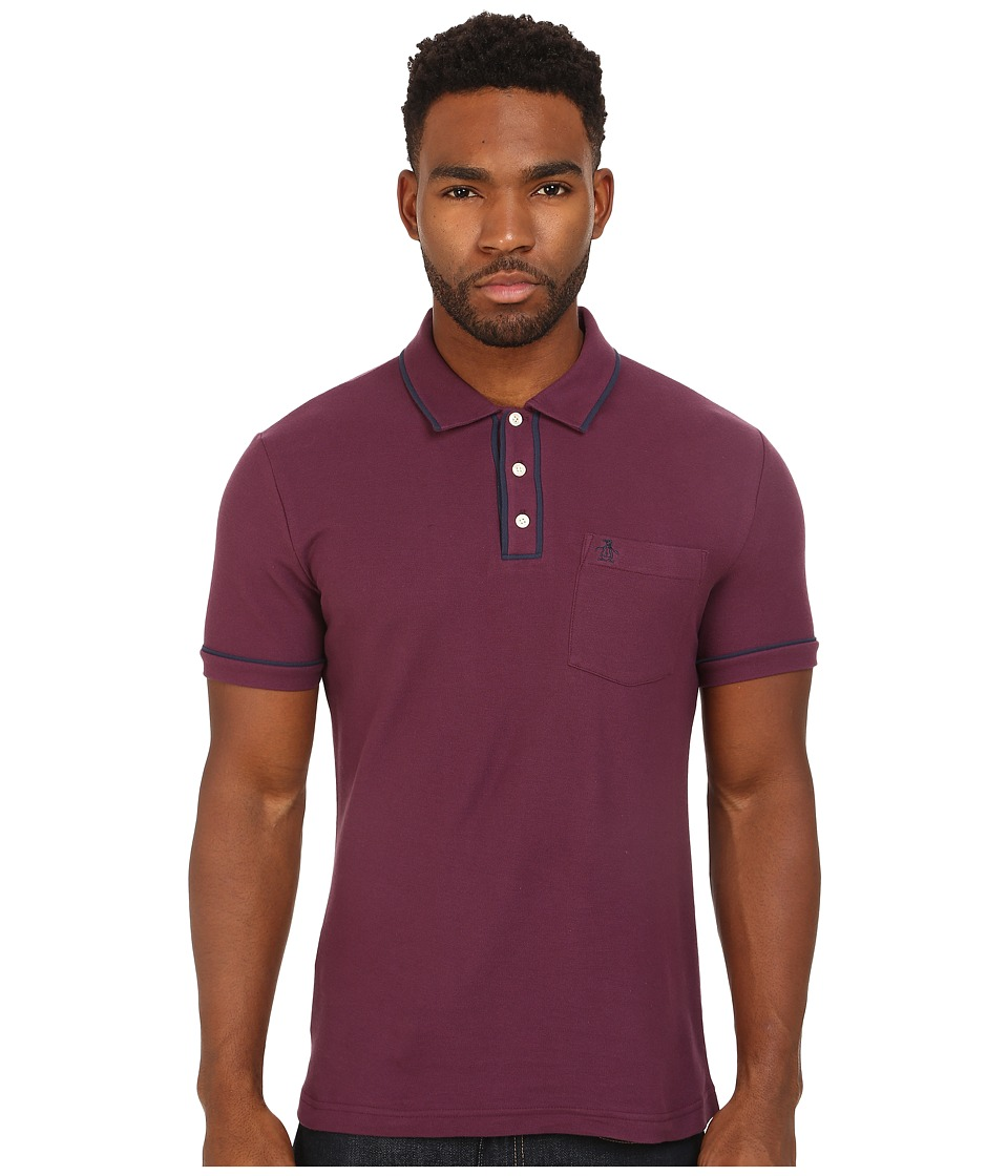 Original Penguin - Earl Heritage (Italian Plum) Men's Clothing