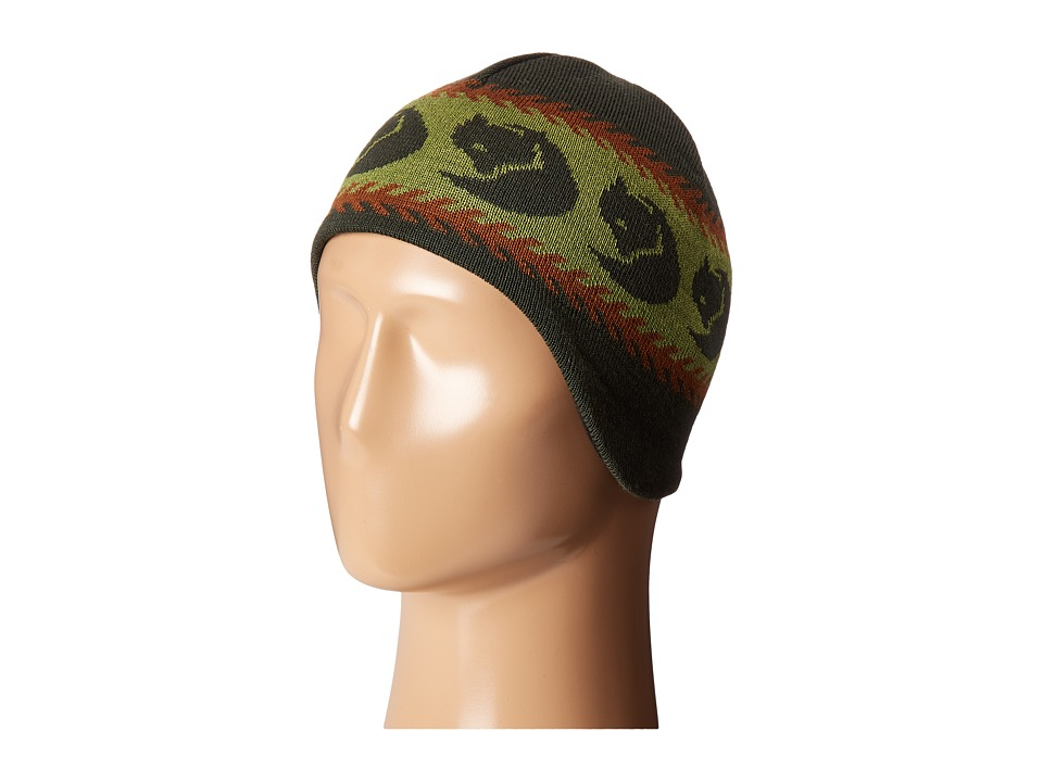 Fj llr ven Kids - Kids Knitted Hat (Olive) Knit Hats