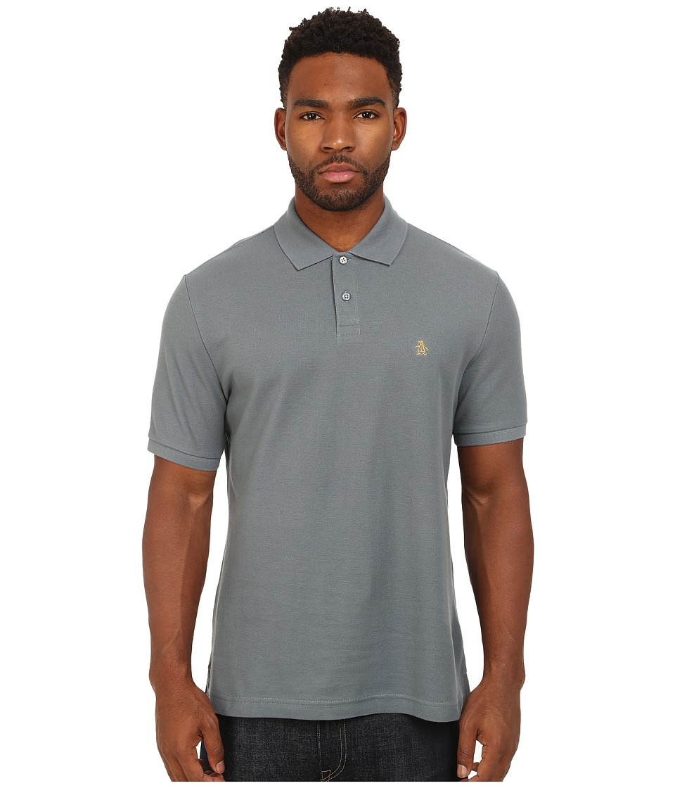 Original Penguin - Daddy-O Polo (Stormy Weather) Men's Short Sleeve Pullover