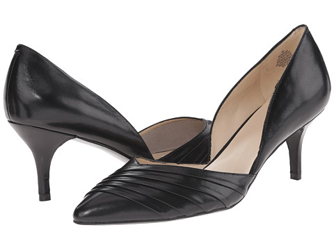 Nine West - Makina (Black Leather Vetro Kid) High Heels