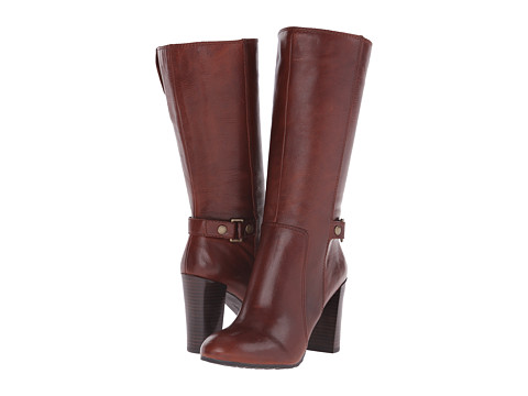 Nine West - Sebastien (Dark Natural Leather Zar) Women's Boots