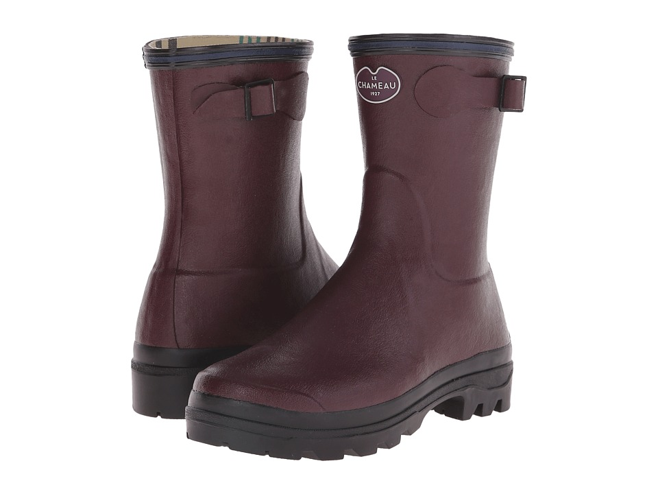 Le Chameau - Giverny Low (Cherry) Women's Rain Boots