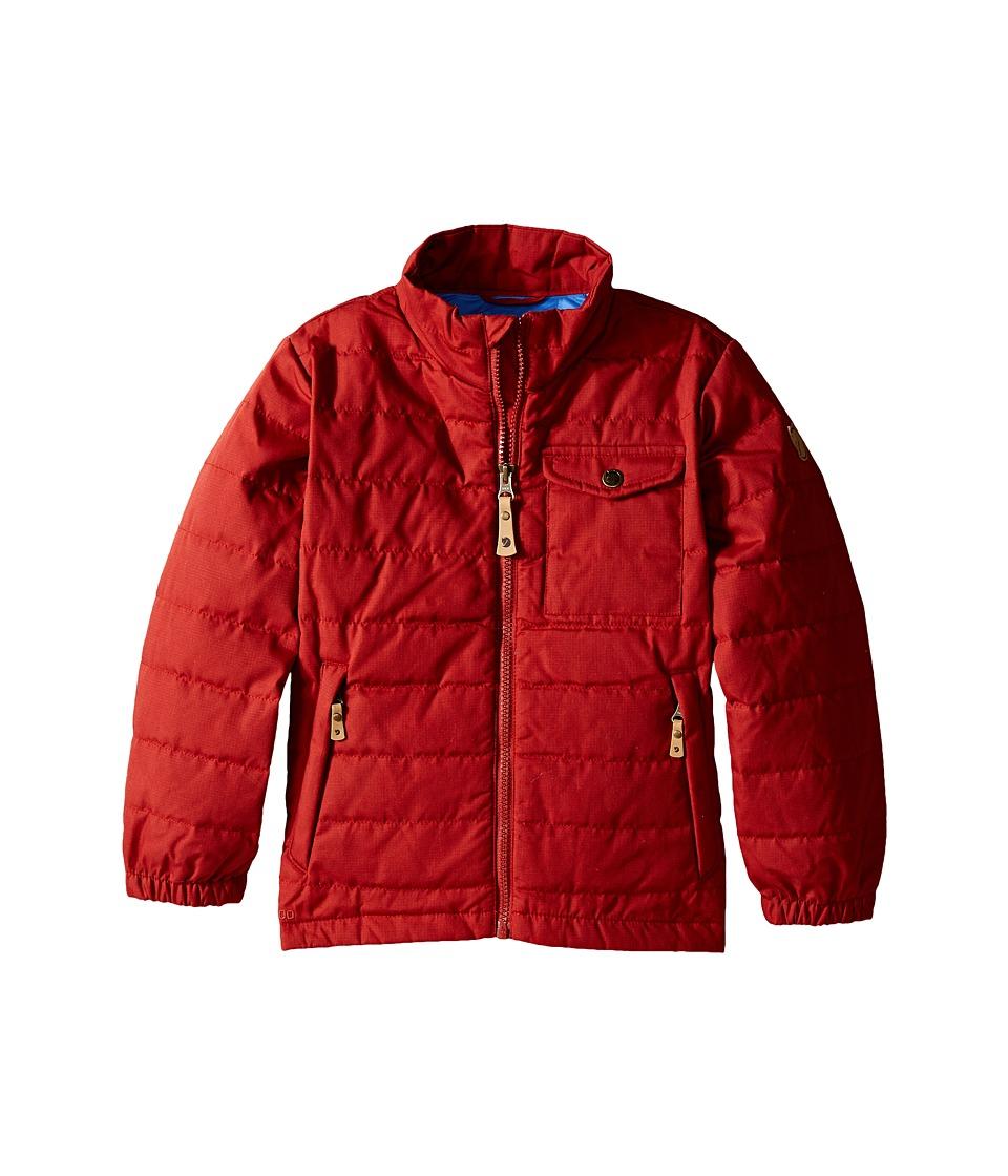 Fjallraven Kids - Kids Ovik Lite Jacket (Deep Red) Kid's Coat