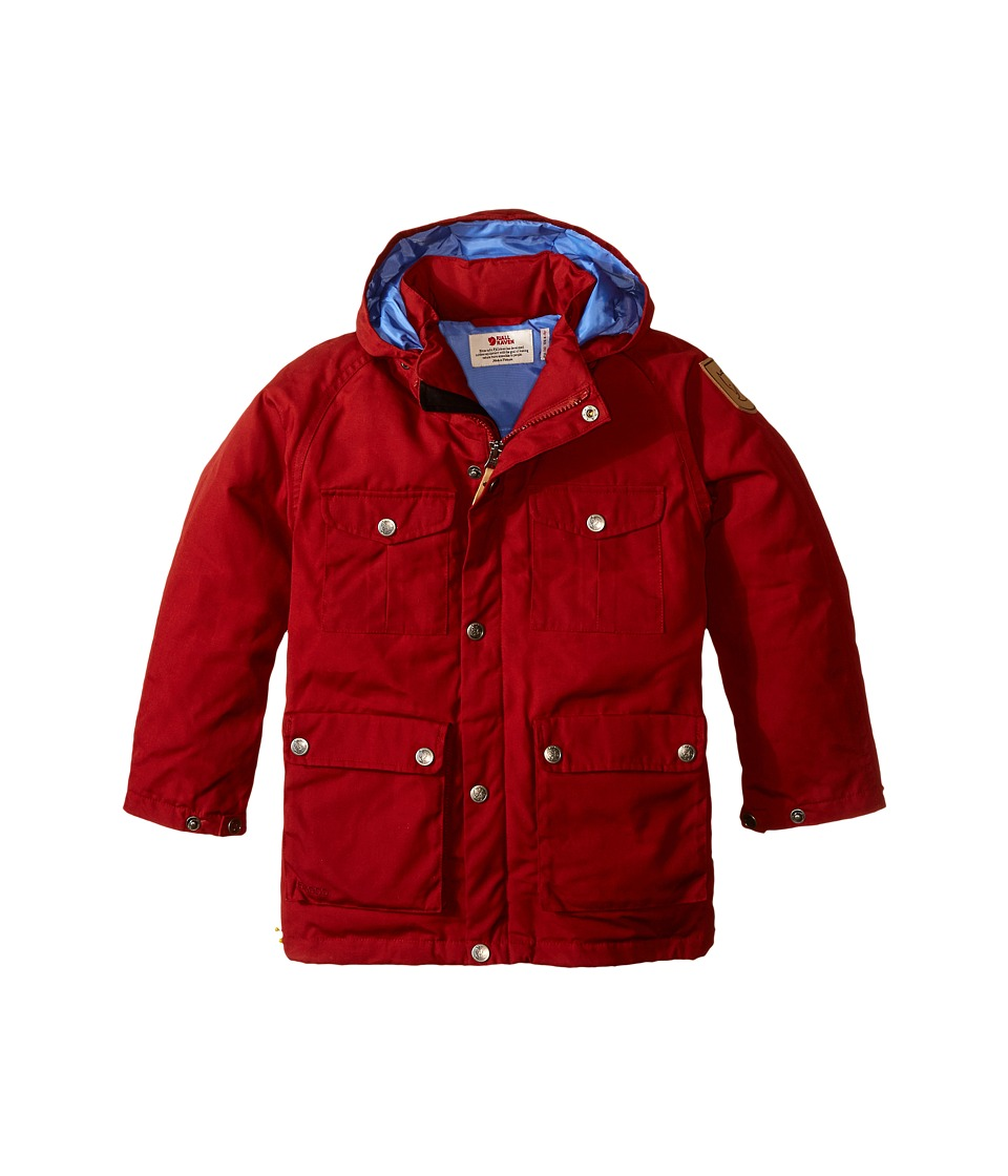 Fjallraven Kids - Greenland Down Parka (Big Kids) (Deep Red) Kid's Coat