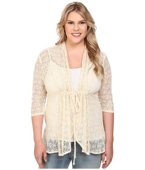 Kiyonna - Bohemian Crochet Bellini (Sandstorm) Women's Clothing