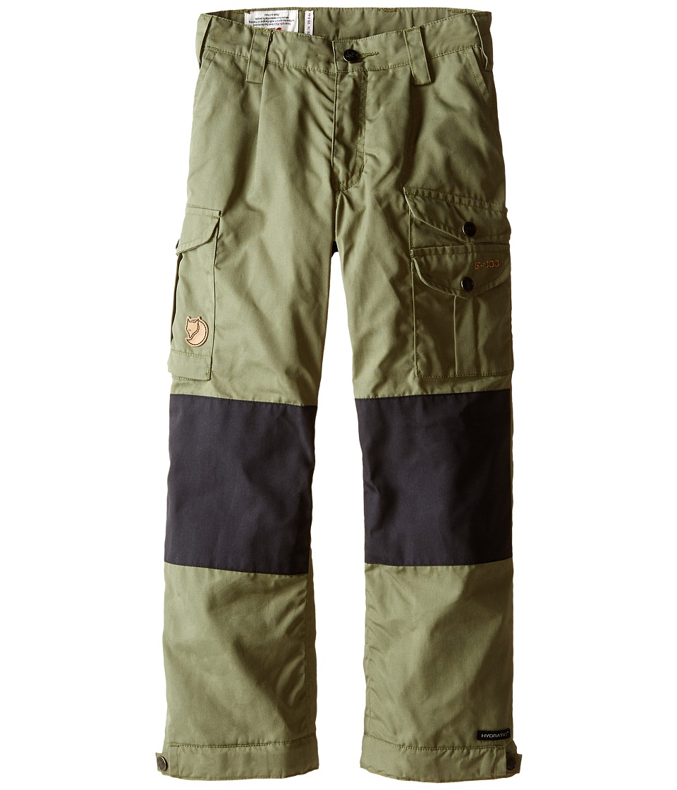 Fjallraven Kids - Kids Vidda Padded Trousers (Green) Kid's Casual Pants