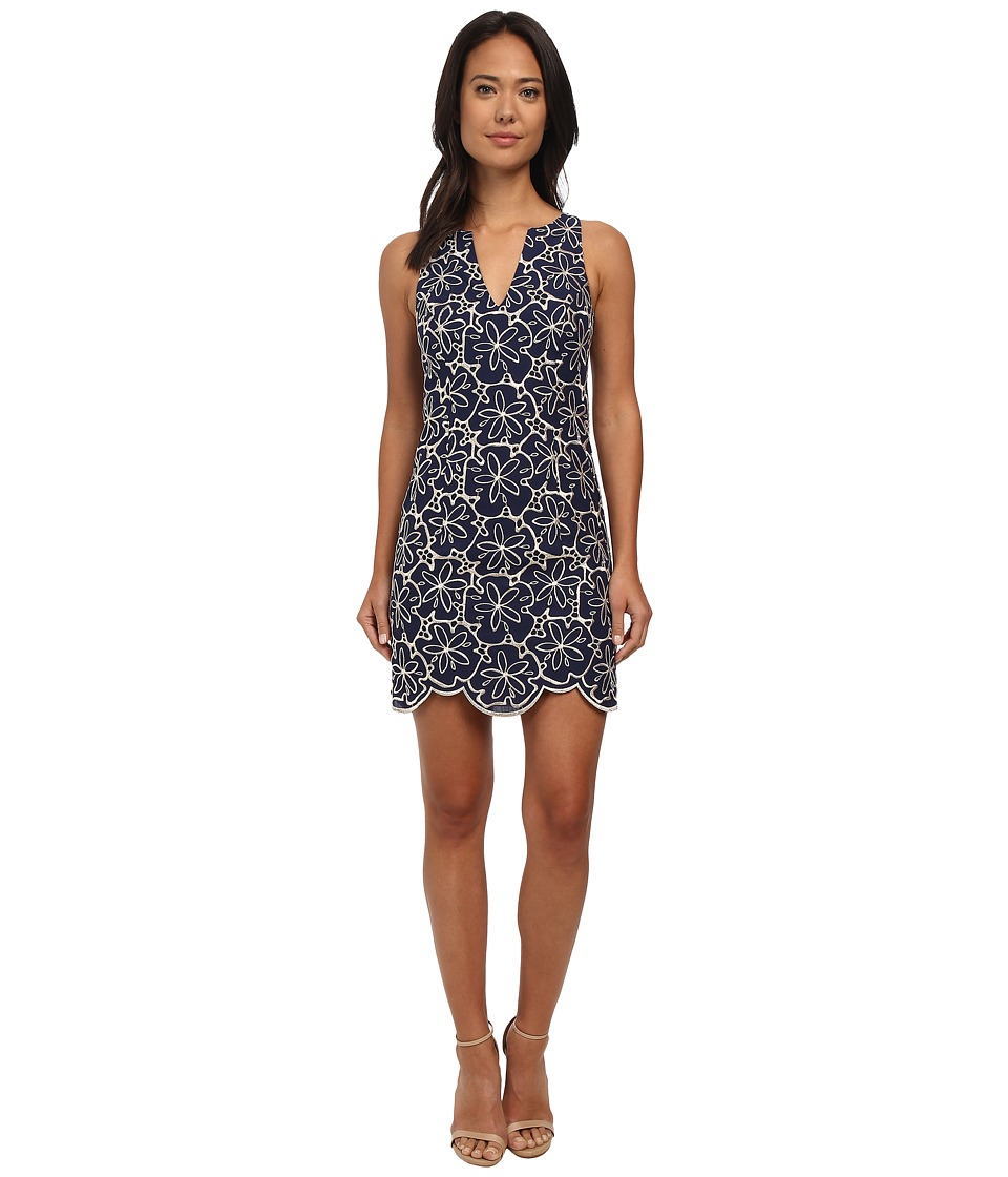 Lilly Pulitzer - Augusta Shift Dress (True Navy) Women's Dress